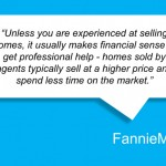 Selling a House? FannieMae Suggests You Use an Agent