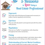 5 Reasons to Love Using a Real Estate Professional [INFOGRAPHIC]