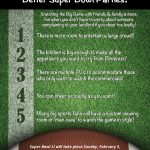 5 Reasons Homeowners Throw Better Super Bowl Parties! [INFOGRAPHIC]