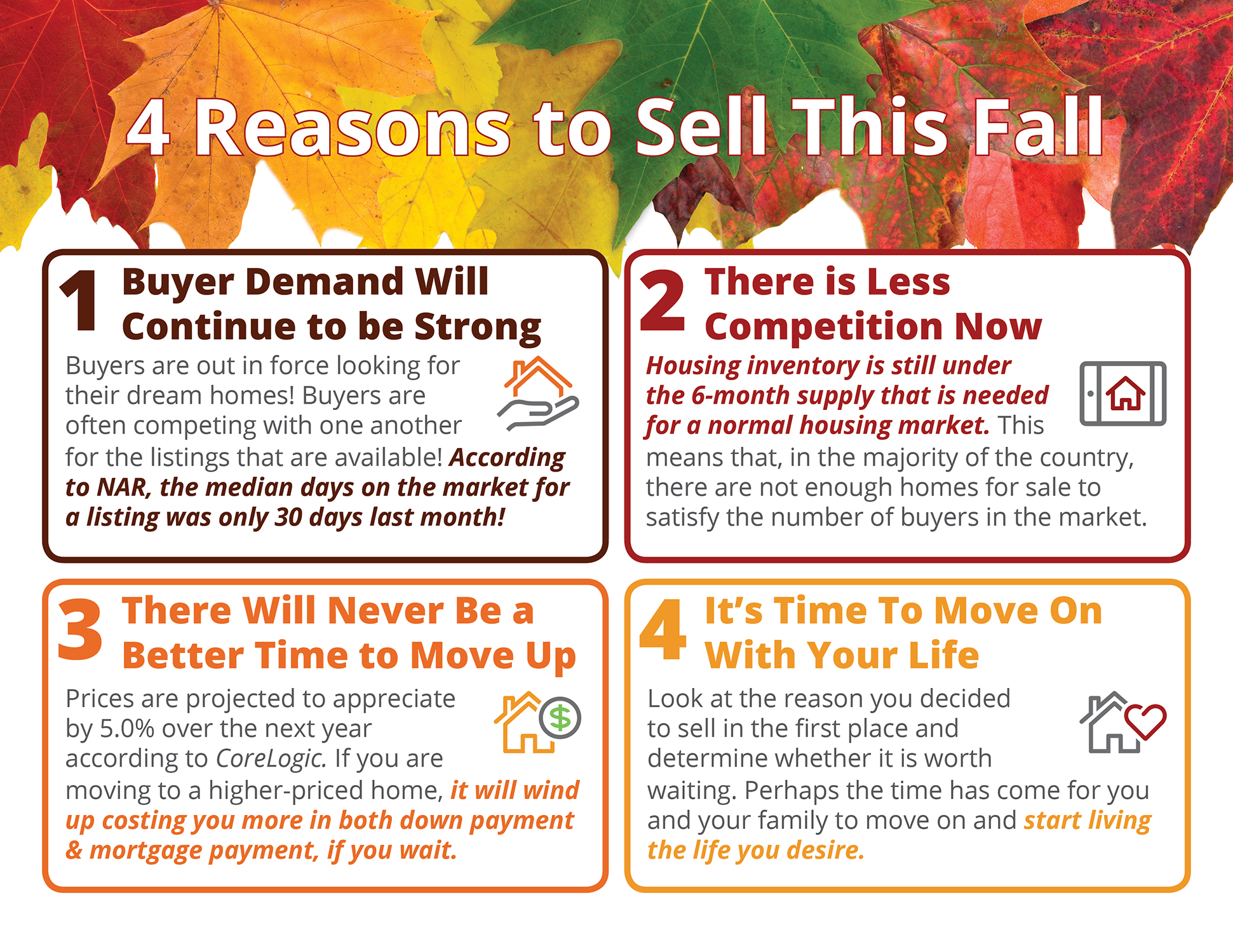 4 Reasons to Sell This Fall [INFOGRAPHIC] | Simplifying The Market
