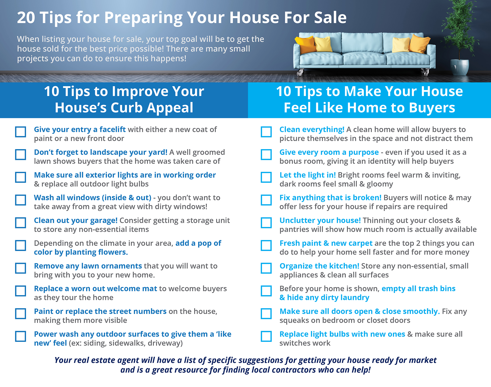 20 Tips for Preparing Your House for Sale This Fall  | Simplifying The Market