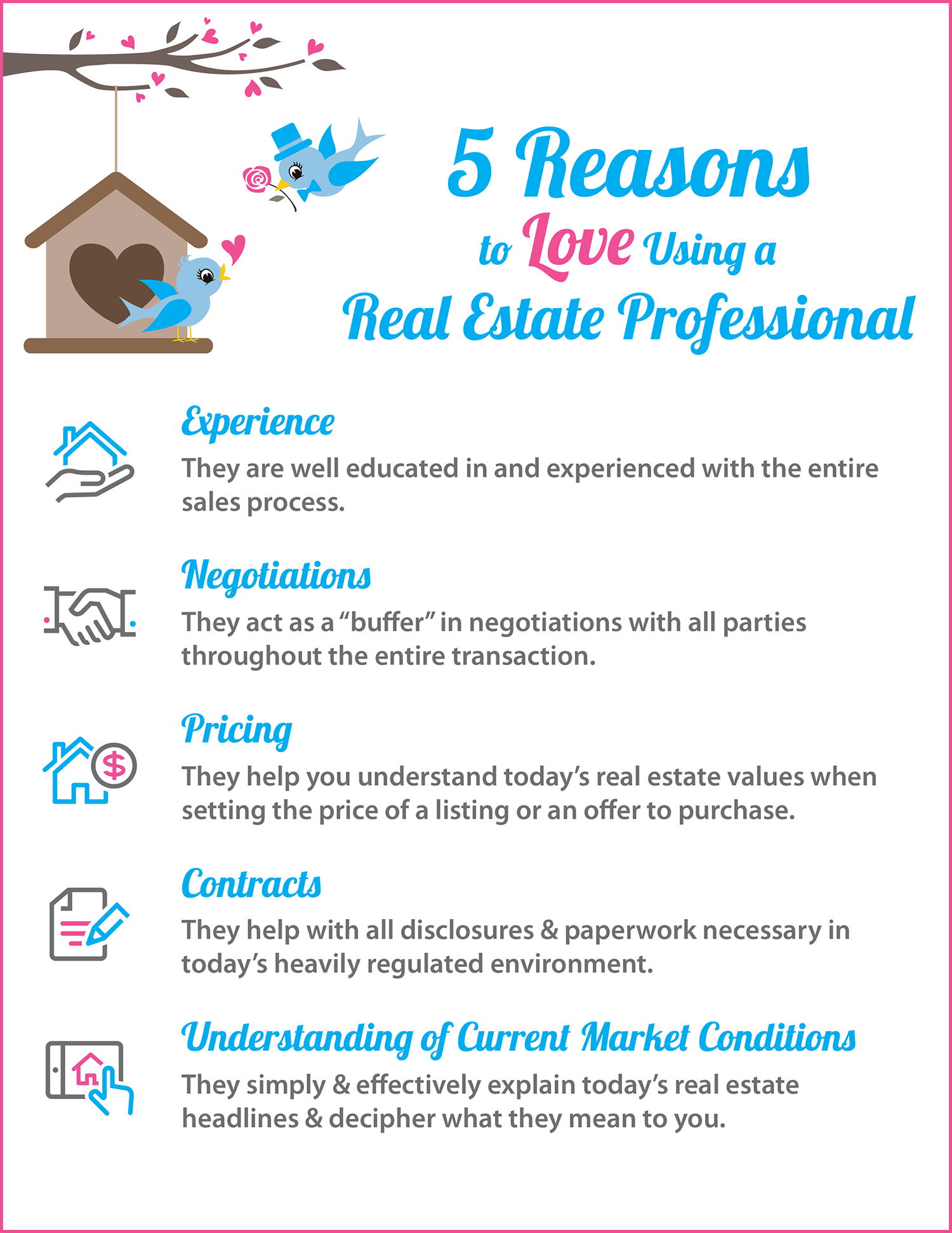 5 Reasons to Love Hiring A Real Estate Pro [INFOGRAPHIC] | Simplifying The Market