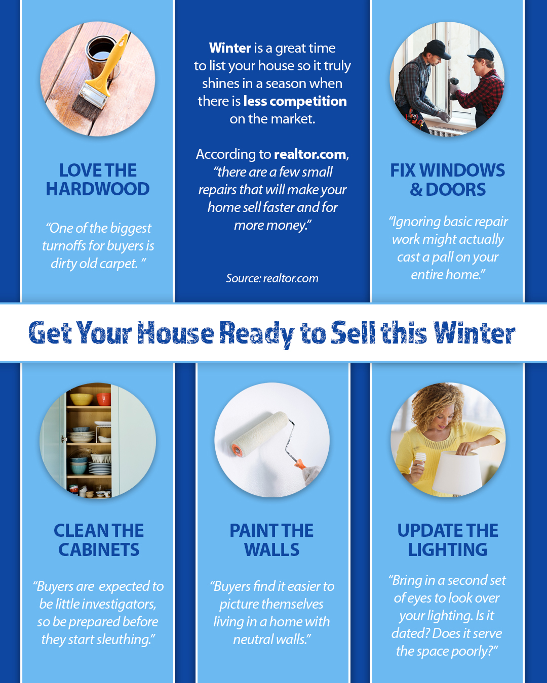 Get Your House Ready To Sell This Winter [INFOGRAPHIC] | Simplifying The Market