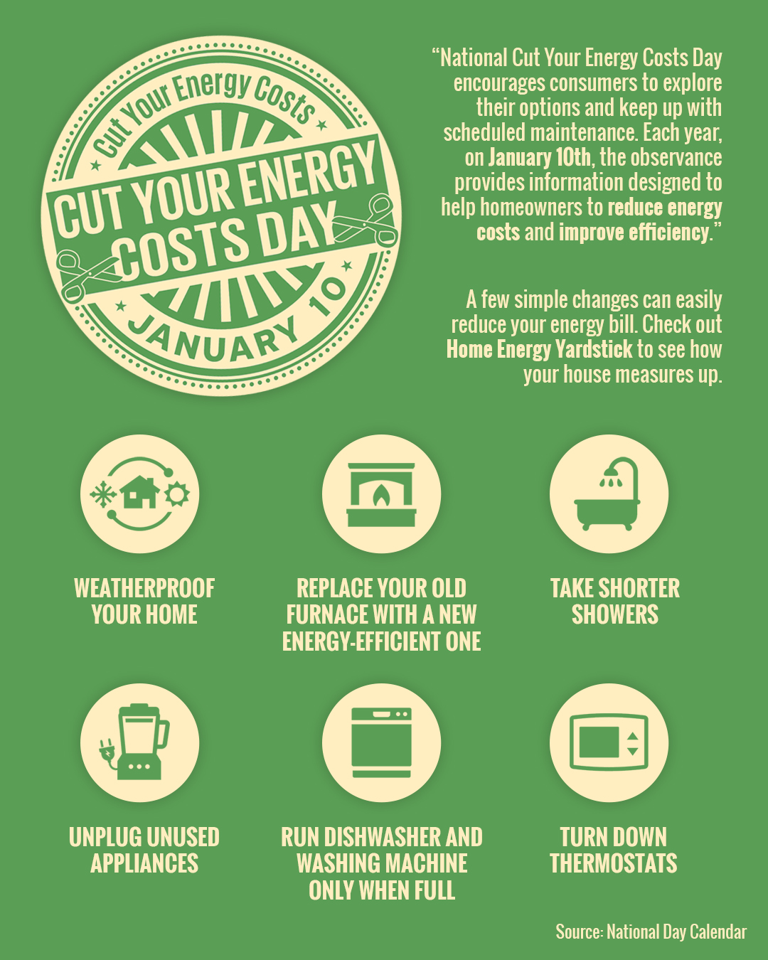 National Cut {YOUR TIME} Costs Day [INFOGRAPHIC] | Simplifying {THE MARKETPLACE}