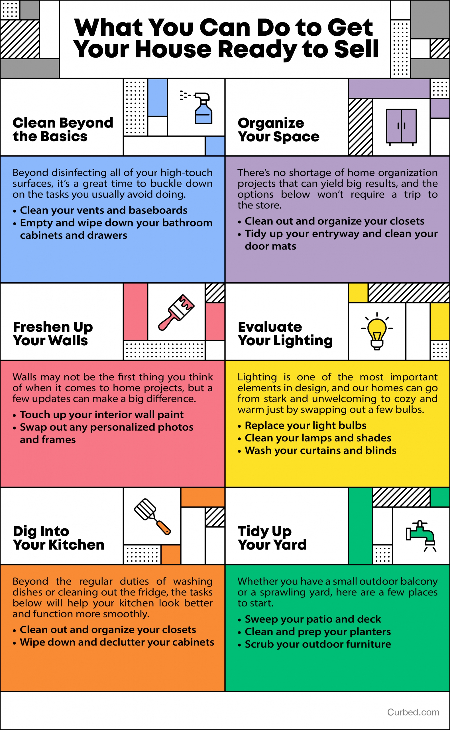 What You Can Do to Get Your House Ready to Sell [INFOGRAPHIC] | Simplifying The Market