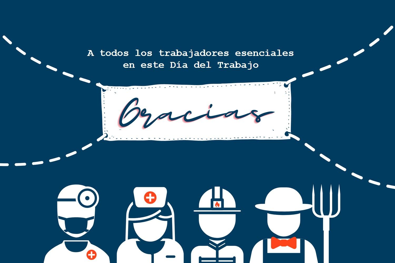 Gracias, trabajadores esenciales | Simplifying The Market