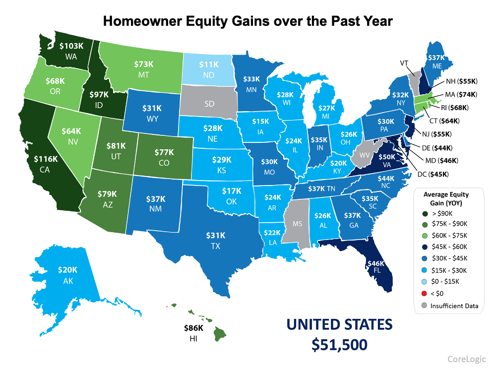 As Home Equity Rises, So Does Your Wealth | Simplifying The Market